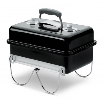 WEBER GO-ANYWHERE CHARCOAL BARBECUE (BLACK)