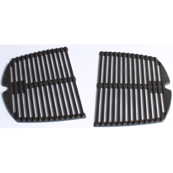 SET OF 2 GRILL CAST IRON COOKING FOR Q140 and Q1400