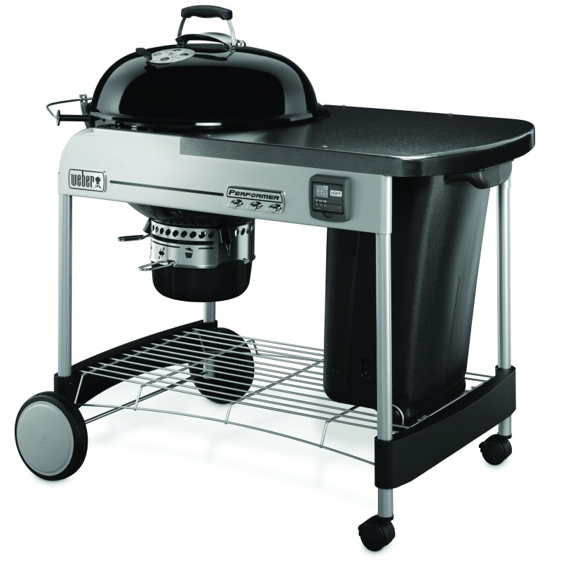 PERFORMER PREMIUM GBS 57cm BARBECUE BLACK + COVER