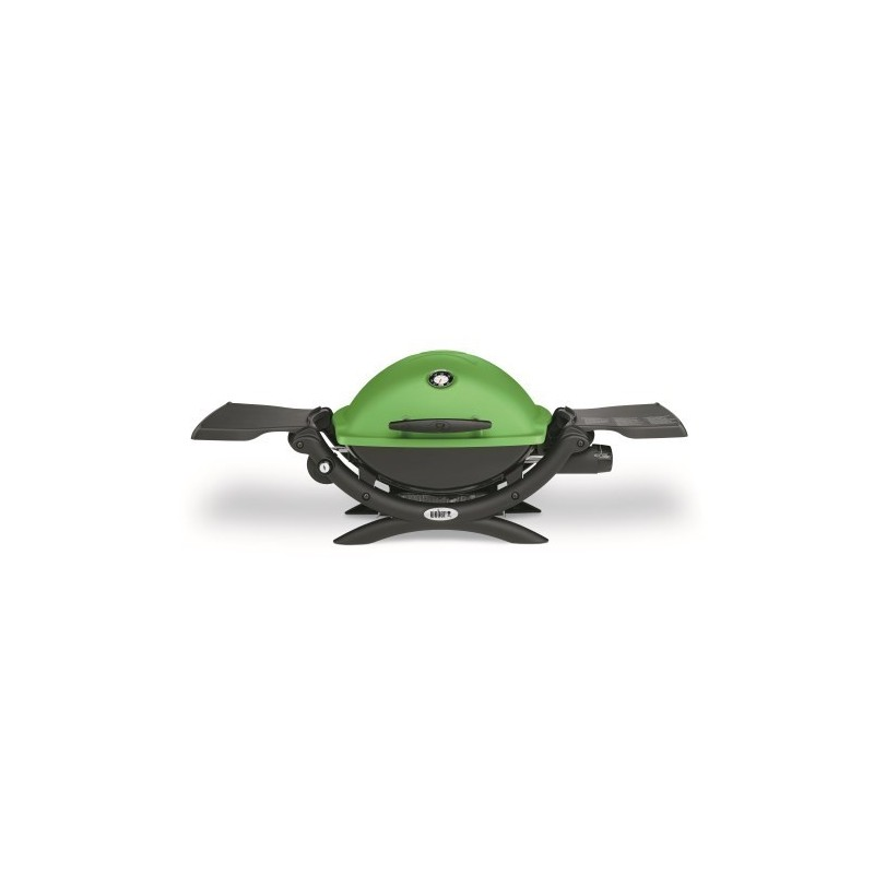 BARBECUE WEBER Q1200  GREEN