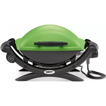 WEBER Q1400 BARBECUE GREEN