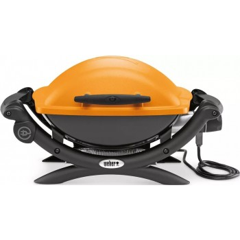 WEBER Q1400 BARBECUE ORANGE