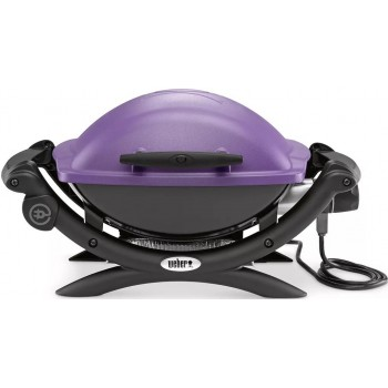 WEBER Q1400 BARBECUE PURPLE
