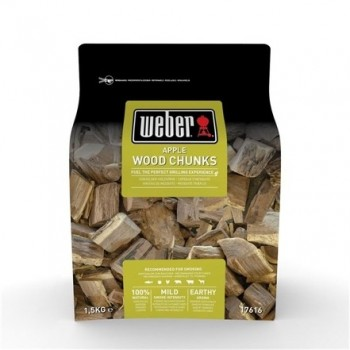 APPLE WOOD CHUNKS FOR SMOKING