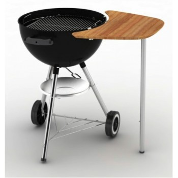 WEBER SIDEKICK TABLE – BAMBOO  FOR  47/57 CM CHARCOAL BARBECUES