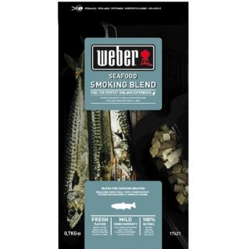 BOIS DE FUMAGE SPÉCIAL POISSONS ET FRUITS DE MER WEBER