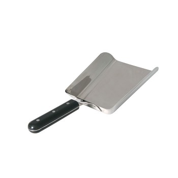 WIDE SPATULA SCOOP WITH RESIN HANDLE FORGE ADOUR