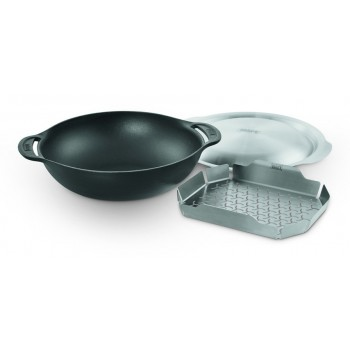WEBER GBS WOK AND STEAMER INSERT