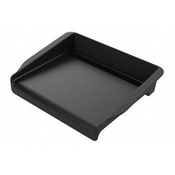 SMALL WEBER ENAMELED CAST IRON GRIDDLE FOR Q, PULSE, SPIRIT AND HIGHER  BBQ MODELS