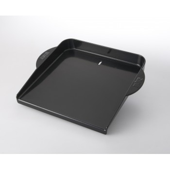 ENAMELLED CAST IRON GRIDDLE FOR GAS BBQ