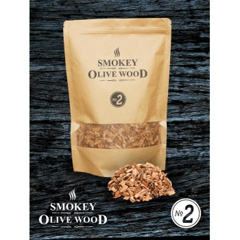 SOW Smokey Olive Wood Smoking Chips Nº2