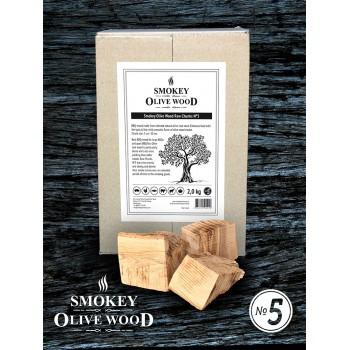 Smokey Olive Wood Raw Chunks Nº5