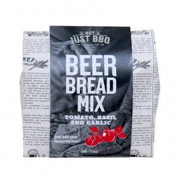 BEER BREAD MIX TOMATO, BASIL & GARLIC 500g NOT JUST BBQ