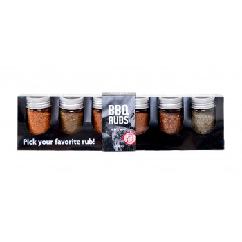 BBQ RUBS GIFT SET 6 FLAVOURS NOT JUST BBQ