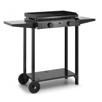 TROLLEY IN ENAMELLED STEEL FOR PLANCHA BASE 60 FORGE ADOUR
