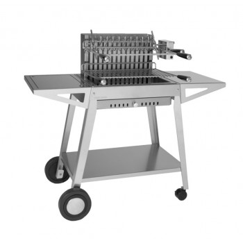 GRILL TROLLEY CHGI 56 IN INOX FOR BUILT-IN STAINLESS STEEL GRILL 918.56 AND 961.56 FORGE ADOUR