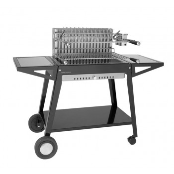 GRILL TROLLEY CHGA 66 IN STEEL FOR BUILT-IN STAINLESS STEEL GRILL 918.66 AND 961.66 FORGE ADOUR