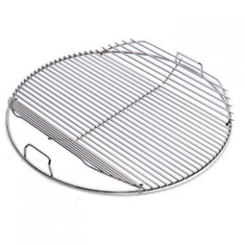 HINGED COOKING GRATE FOR 57 cm WEBER BBQ