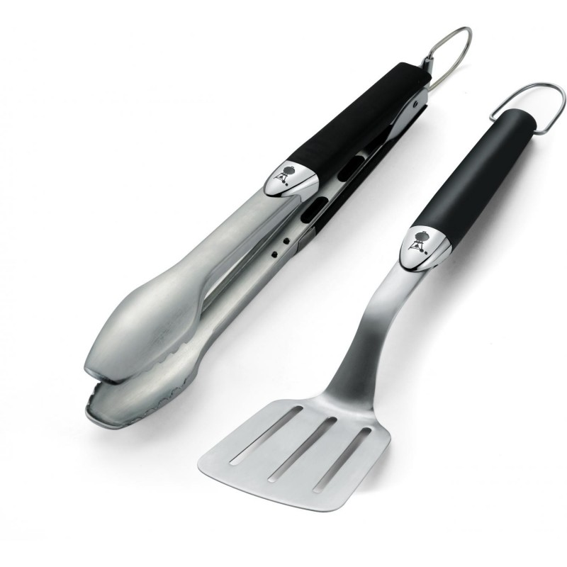 WEBER STAINLESS STEEL 2 PIECE PORTABLE TOOL SET