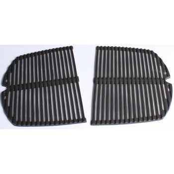 SET OF 2 GRILL CAST IRON COOKING FOR Q240 /Q2400