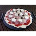 PIERRE À PIZZA EN CÉRAMIQUE WEBER STYLE