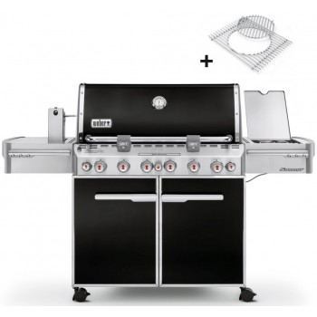 WEBER SUMMIT E-670 GBS BLACK BARBECUE