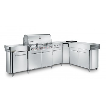 WEBER SUMMIT GRILL CENTER BARBECUE + COVER