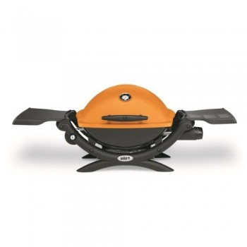 WEBER Q1200 BARBECUE  ORANGE
