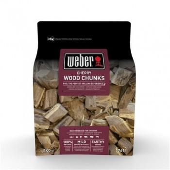 CHERRY WOOD CHUNKS FOR SMOKING