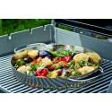 WEBER ORIGINAL™ GOURMET BBQ SYSTEM STAINLESS STEEL COOKING GRATE, GENESIS 300 SERIES