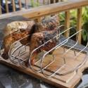 Support de cuisson pour cuisses de poulet, côtes et côtelettes Weber
