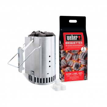 WEBER PLUS CHIMNEY LIGHTER SET
