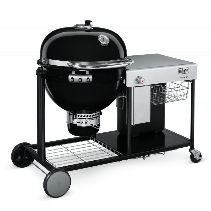 SUMMIT CHARCOAL GRILLING CENTER BLACK