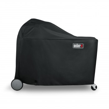 DELUXE VINYL COVER FOR WEBER SUMMIT CHARCOAL GRILLING CENTRE