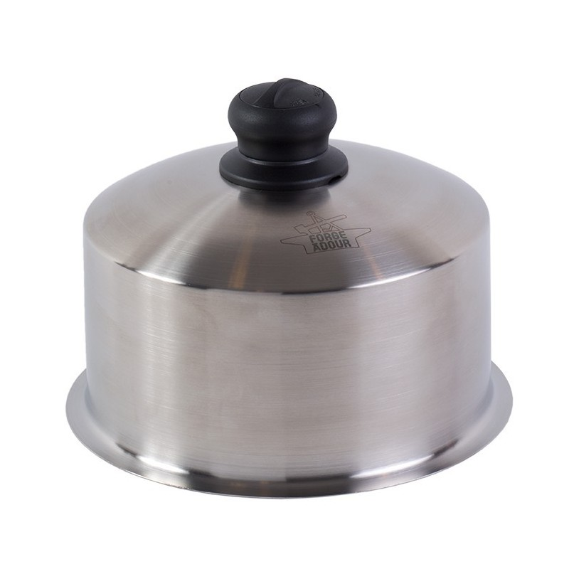 STAINLESS STEEL COOKING CLOCHE (22 cm) FORGE ADOUR