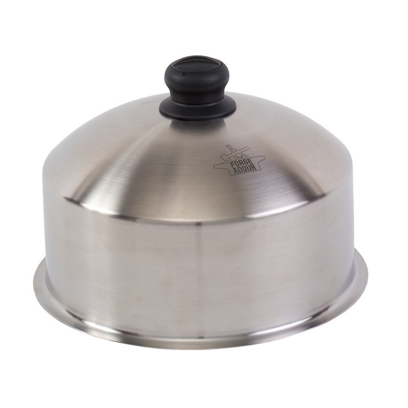 STAINLESS STEEL COOKING CLOCHE (28cm) FORGE ADOUR