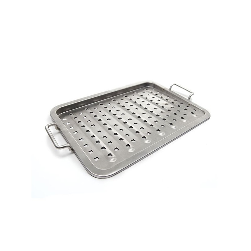 BANDEJA PERFORADA INOX BROIL KING