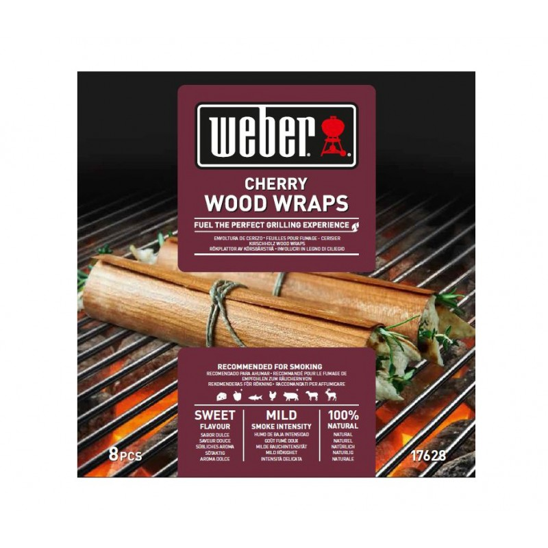 CHERRY WOOD WRAPS WEBER