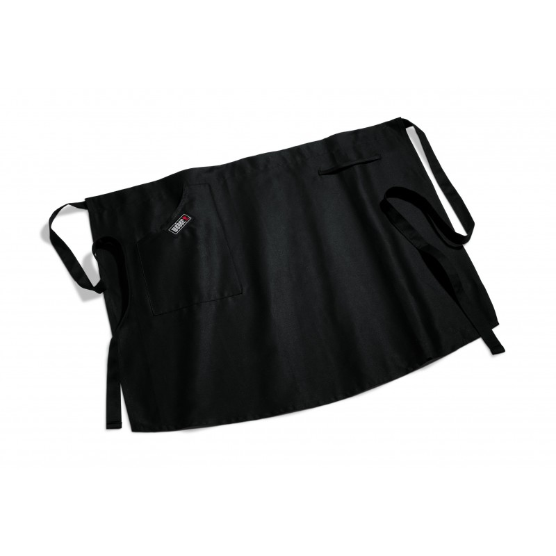 SHORT BLACK WEBER BBQ APRON