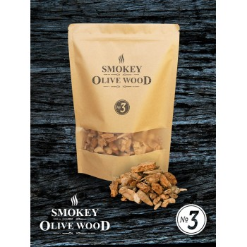 SOW Smokey Olive Wood Smoking Chips Nº3