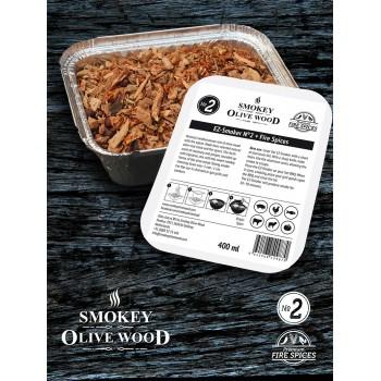 SOW Smokey Olive Wood EZ-Smoker Nº2 + Fire Spices