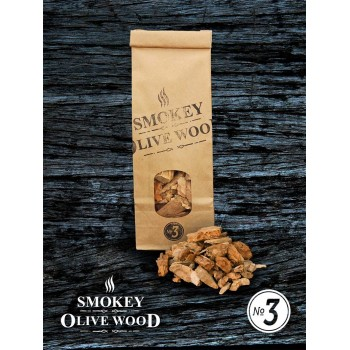 SOW Smokey Olive Wood Small Pack Nº3 Smoking Chips