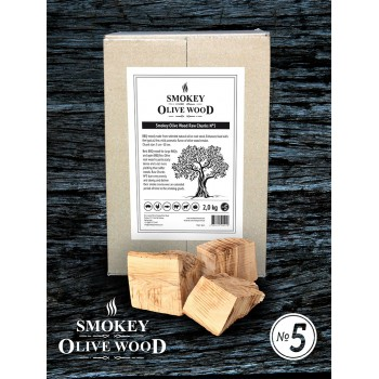 SOW Smokey Olive Wood Raw Chunks Nº5