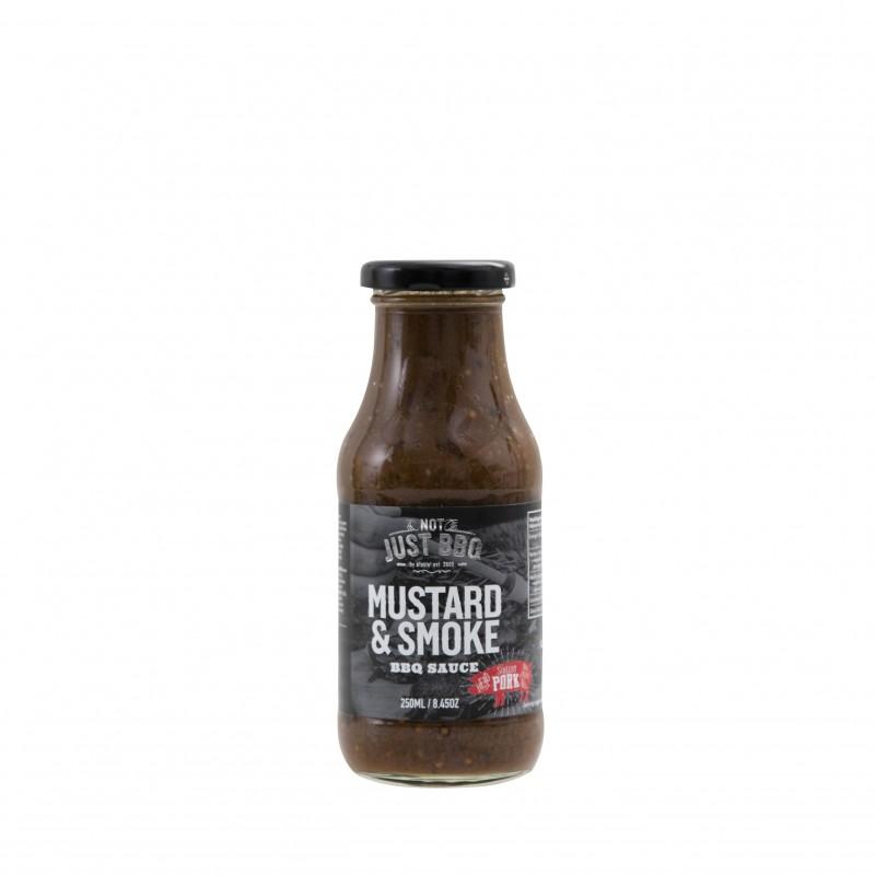 MUSTARD & SMOKE BBQ SAUCE 250ml NOT JUST BBQ