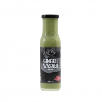 GINGER WASABI SAUCE 250ml NOT JUST BBQ