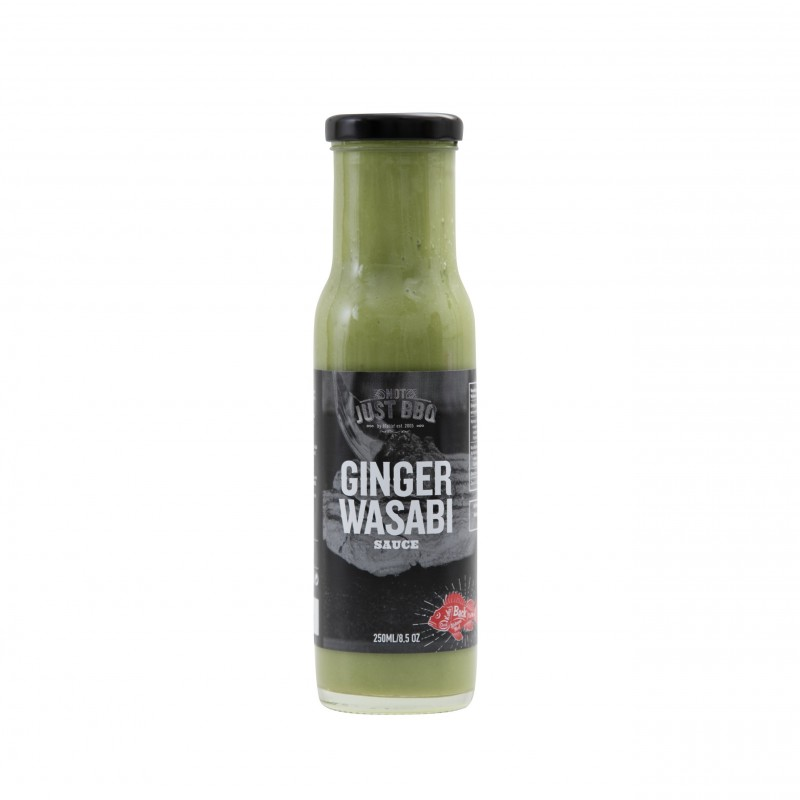 NOT JUST BBQ GINGER WASABI SAUCE