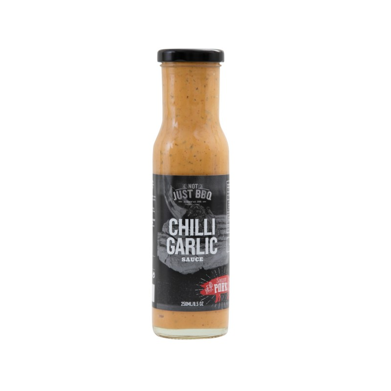 NOT JUST BBQ CHILLI GARLIC SAUCE