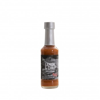 LEMON & CHILI HOT SAUCE 130g NOT JUST BBQ