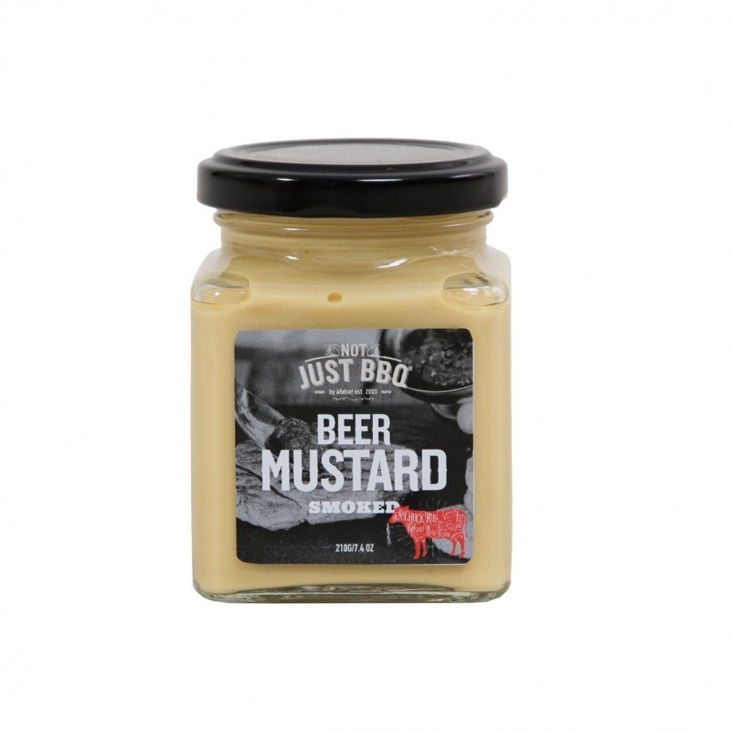 NOT JUST BBQ BEER MUSTARD SMOKED
