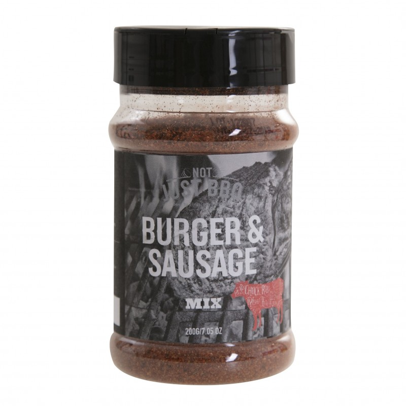 NOT JUST BBQ HAMBURGER & SAUSAGE SEASONING